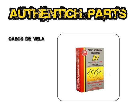 Jogo De Cabos De Vela Ngk Ford F1000 4.9 L6 96 À 98