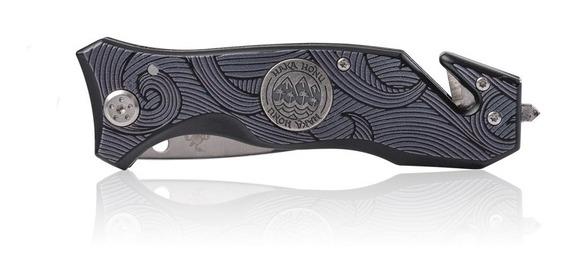Cuchillo Unisex Navaja Negro Haka Honu