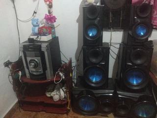Equipo De Sonido Sony 6 Bafles