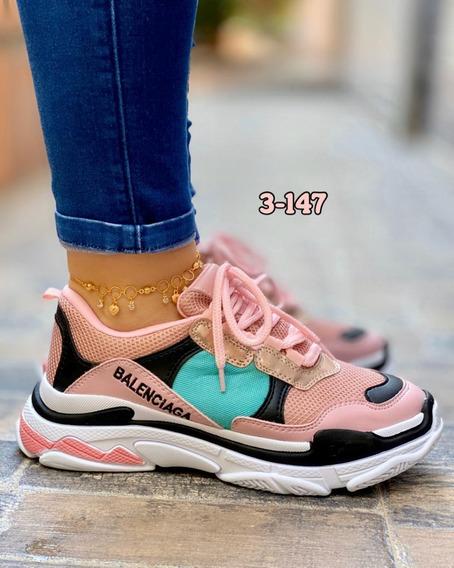Tenis Balenciaga Mujer / Tractor/ Zapatillas / Envío Gratis