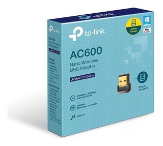 Adaptador Wifi Tp Link Usb Archer T2u Banda Dual Ac600