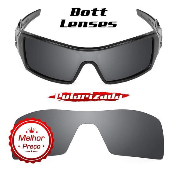 Lente Óculos Oil Rig Black Chrome Polarizada - Bott Lenses