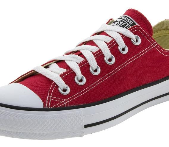 Tênis Feminino As Core Ox Vermelho Converse All Star - 1140