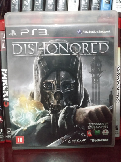 Dishonored Completo Ps3 | Parcelamento Sem Juros