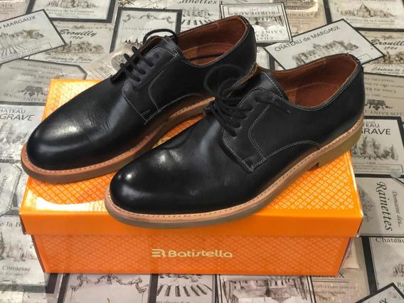 Zapatos Batistella Negro T. 6,5. Nuevos.