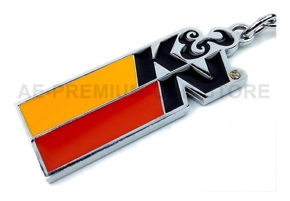 Chaveiro K&n K N Kn Filters Filtro Esportivo Importado Metal