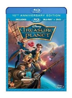 Bluray Y Dvd El Planeta Del Tesoro 10 Aniversario Disney