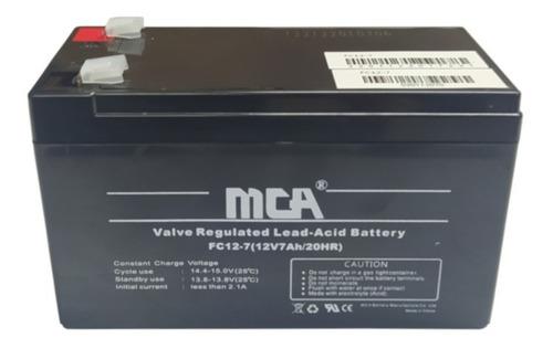 Imagen 1 de 2 de Batería 12v 7ah Para Ups Respaldo Energía,tienda Fisica Pzo