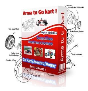 Construye Carro Buggy Karting Go Kart Arenero