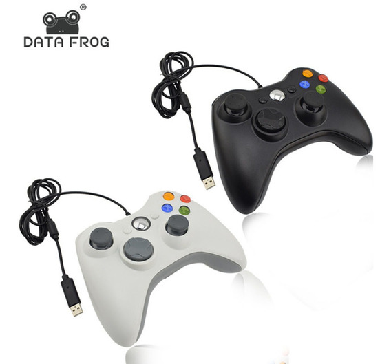 Data Frog Xbox360 Forma Pc Single Com Controlador De Jogo Co