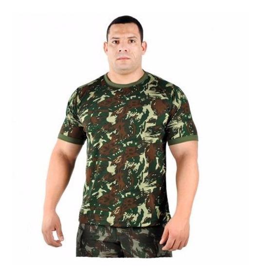 Camisa Camuflada Pv Militar Pescaria Exército Lisa