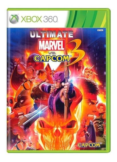 Ultimate Marvel Vs. Capcom 3 Xbox 360 Mídia Física