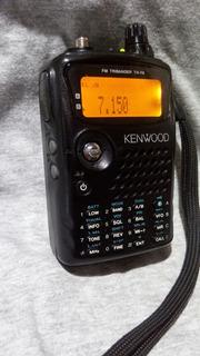 Rádio Ht Kenwood Th F6 Excelente,bem Concervado,pouco Uso