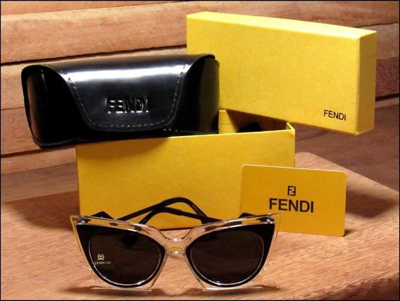 Óculos De Sol Fendi Orchidea Unisexx Já No Brasil °1058°