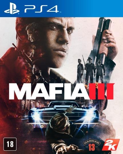Mafia 3- Playstation 4 Lacrado Novo Mídia Física Ps4