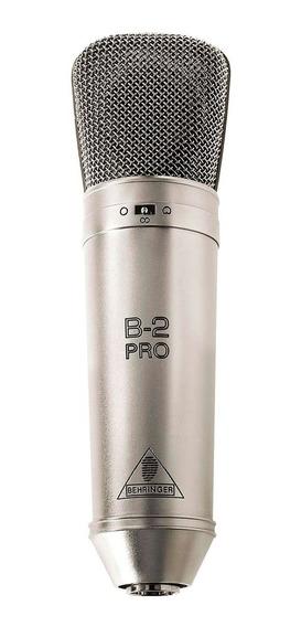 Microfone Condensador Behringer C/ Fio - B 2 Pro
