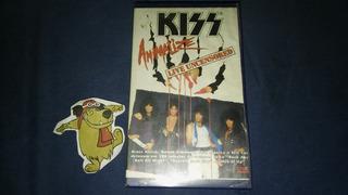 Kiss-animalize,live Uncensored (vhs)