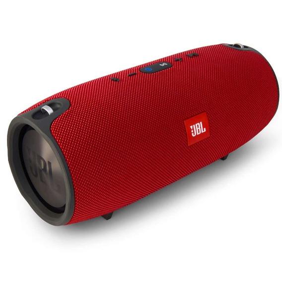 Caixa De Som Jbl Xtreme Red Portátil Vermelho Xtremeredeu