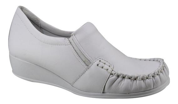 Sapato Anabela Comfortflex 17-93303   Katy Calçados