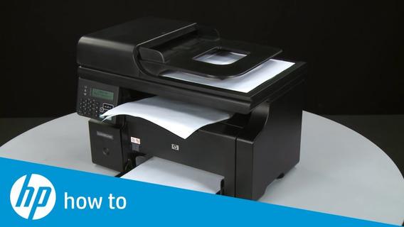 Impressora Multifuncional Hp Laserjet M1212 Mfp + Toner Cheio