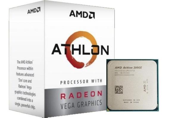 Processador Amd Athlon 200ge Box (am4 / 3.2ghz / 5mb Cache)
