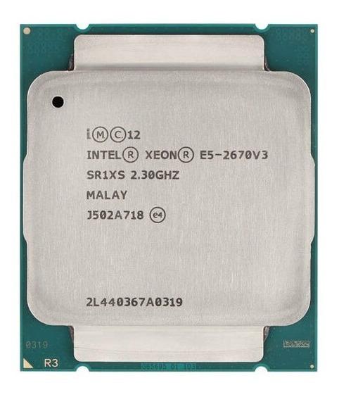 Processador Cpu Intel E5-2670 V3 Sr1xs 2.3ghz 12 Core 2011-3