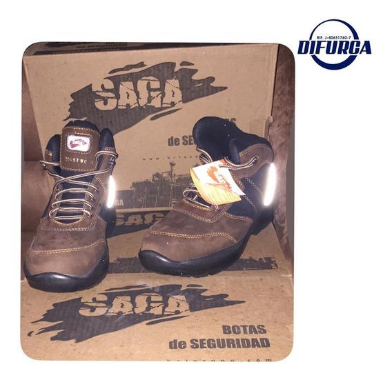 Zapato De Seguridad Marca Saga