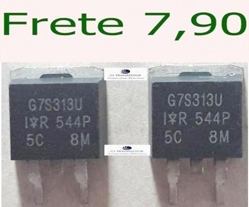 3 Peças G7s313u Novo E Original Envio Ja
