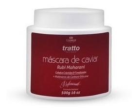 Máscara Cabelos Tonalizados Caviar & Rubi 500g   Cosmezi