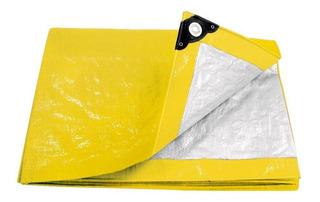 Lona 3x4 Metros Amarilla Pretul 23741