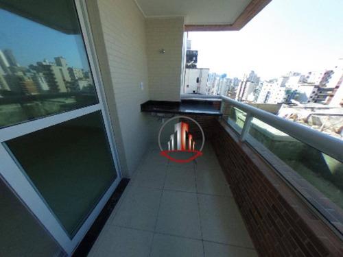 Excelente Apartamento Com 2 Dormitórios À Venda, 62 M² Por R$ 310.000 - Vila Guilhermina - Praia Grande/sp - Ap2090