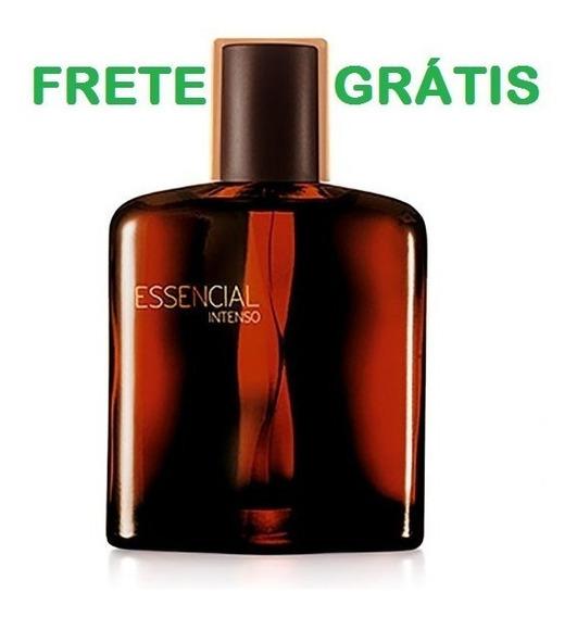 Perfume Essencial Intenso Masculino Natura 100 Ml + Brinde