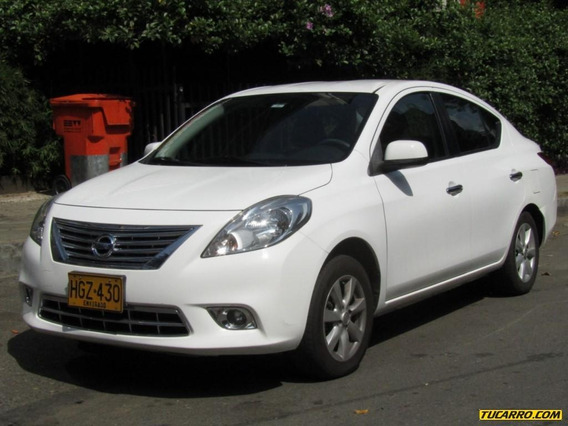 Nissan Versa Advance 1600 Cc Mt
