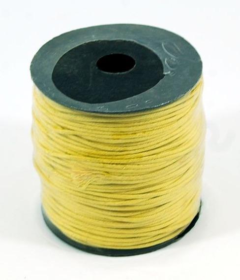 Cordón De Algodón 1.5,mm - Amarillo - X 100 Mts