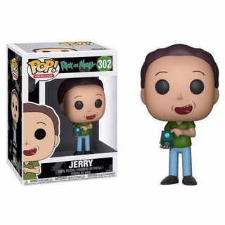 Funko Pop 302 Rick & Morty Jerry Playking