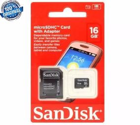 Cartão De Memória Micro Sd Sandisk 16g - Classe 4