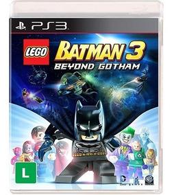 Jogo Novo Lego Batman 3 Beyond Gotham Para Playstation 3 Ps3