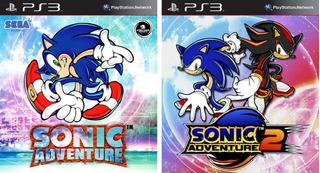 Sonic Adventure 1 + Sonic Adventure 2 Ps3