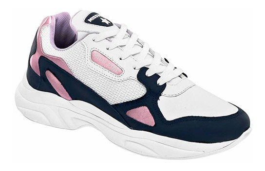 Mpink Zapato Casual Blanco 6cm Sint Mujer C67709 Udt