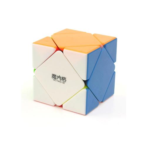 Cubo Mágico Profesional Irregular Qiyi Skewb Stickerless Ful