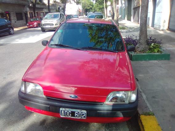 Vendo Ford Fiesta 1995 Gasolero Papeles Al Día Vtv Hecha