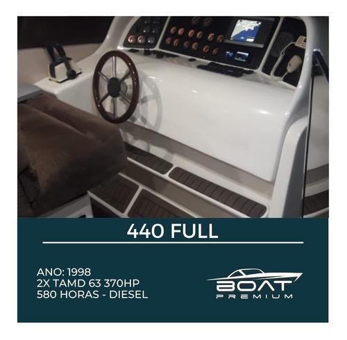 440 Full, 1998, 2x Tamd 63 370hp - Cimitarra - Cranchi