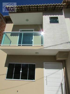 Casa Duplex Residencial À Venda, Granja Dos Cavaleiros, Macaé. - Ca0020