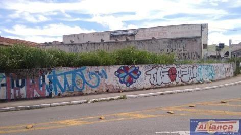Terreno Comercial Para Locação, Jardim Santa Mena, Guarulhos. - Te0023