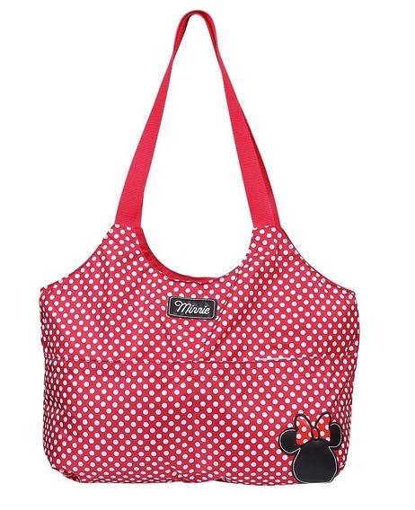 Bolsa Maternidade Baby Bag Luxo Minnie Com Trocador Baby Go