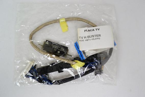 Kit Cabo Flat + Sensor Remoto + Wifi Tv Buster Hbtv42l07fd