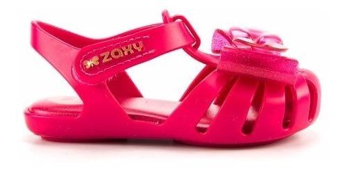 Sandália Infantil Zaxynina Docinho Rosa Pink