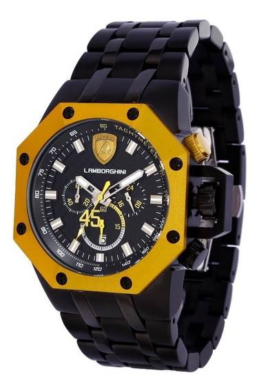 Relógio Masculino Lamborghini Lb90012663m Huracan Original