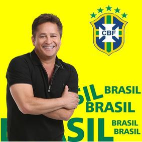 Camisa Copa Brasil Cantor Leonardo 2018 Frete Gratis 06
