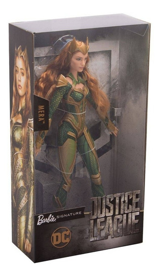 Boneca Barbie Signature Dc Collector Princesa Mera Aquaman